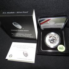 Nice U.S. 2015 Marshals Service 225th Anniversary Commemorative coin Dollar