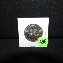 Nice U.S. 1958-D Franklin half dollar