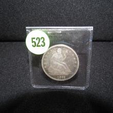 Nice U.S. 1875 Seated Liberty half dollar