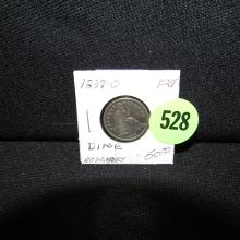 Nice U.S. 1839-O Seated Liberty dime