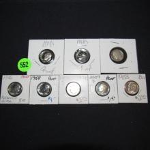 Piece U.S. Roosevelt Dimes, various dates & mints