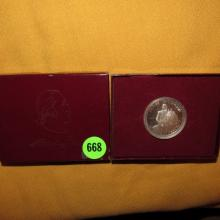 U.S. Washington Half Dollar 90% silver in box