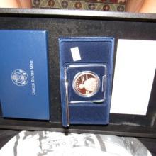 Nice U.S. mint $1 dollar proof, Thomas Edison commemorative coin program
