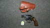Vintage Smith & Wesson (S & W) .38 revolver, with holster. *NOTE* FFL PAPERWORK REQUIRED, SEE LOT 0, $25.00 FEE PER FIRE ARM