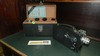 vintage Cine-Kodak model K movie camera in case