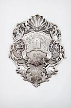 A Miniature Silver Torah Shield, Netherlands, 1807-1810