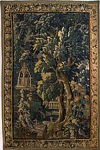 A Rare Flemish Verdure Hanging Tapestry, Late 16th- Early 17th Century