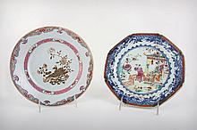 Two Enamel Plates, 18th/Early 19th Century