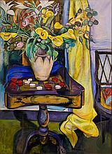 Edward Wolfe - Still Life with Flower Vase