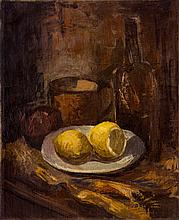 Samuel Ovadiahu - Still Life with Lemons