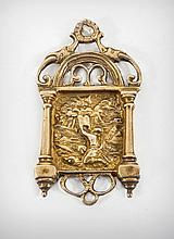 A Silver Gilt Amulet, Probably German, 19th Century