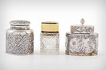 3 Silver Ink Wells