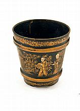 A Chinese Antique Lacquered Papier-Mache Cup, 18th Century