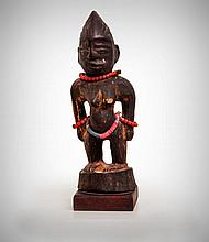 Adorned Gambari Female Figure, Wawa, Kwara,