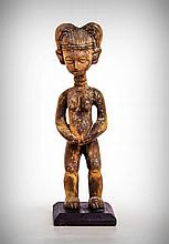 Kulango Female Fertility Figure, Upper Volta