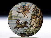 Majolika-Tondino von Saverio Grue, 1731 - 1799
