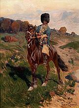 """Franz Roubaud, auch """"Franz Alekseevic Roubaud"""", 1856 Odessa - 1928 München"""