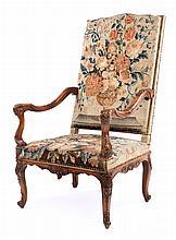 Großer Armlehnstuhl im Barockstil