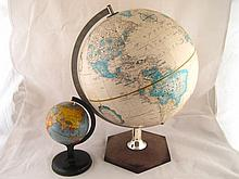 A 1980s Scan-Classic globe on stand, 30cm. dia.,