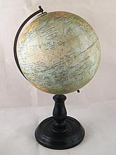 A Phillips British Empire terrestrial globe, 19cm