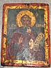 Russian Icon. Oil on panel. 9.1/4'' x 7'' : 23.5 x