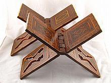 A pair of Persian Islamic micromosaic inlaid