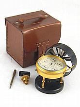 A portable Short and Mason anemometer, by Halden & Co. Manchester, complete