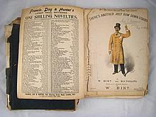 An extensive collection of Victorian music hall music and lyrics in three