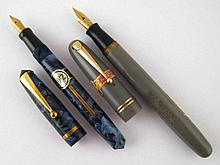 A Unique fountain pen, side lever, circa 1930, in
