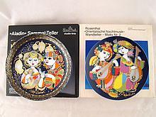 Two Rosenthal studio line ceramic plates by Bjorn