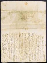 Earliest known Postmarked Transatlantic cover from Cape of Good Hope (Cross Referenced as Lot 2)