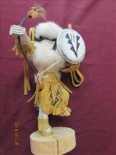 American Indian Kachina Doll - Buffalo Warrior by Benjamin?