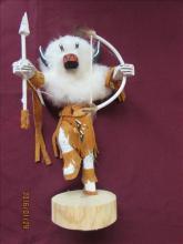 American Indian Kachina Doll - Buffalo #4021/609 ET 10