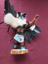 American Indian Kachina Doll by Navajo Harrison Jones Eagle 6