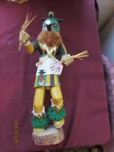 American Indian Kachina Doll - Zuni Warrior by Anna Sperce 18