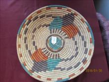 American Indian Tight Woven Basket 15 1/2