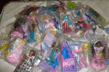 Lot over 30 pieces- Barbie dolls still sealed