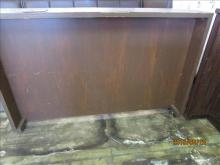 Portable Bar on wheels wood used condition-70