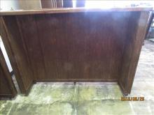 Portable Bar on  wheels wood used condition- 62