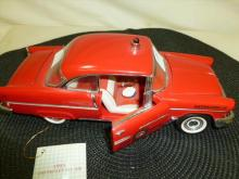 Franklin Mint classic- 1956 Chevy Bel Air fire