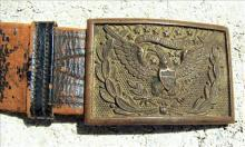 Civil War Belt Buckle Model 1851