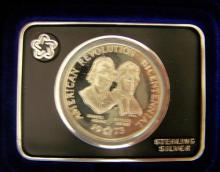 1973 Commemorative Sterling Silver Medal
