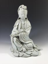 A Fine Blanc De Chine GuanYin Figure