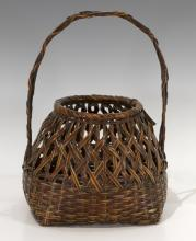 Japanese Small Woven Basket