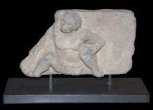 2nd Century Gandharan Atlas Sculpture