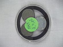 Coin Set 1943 D,S,PL Cent pennies