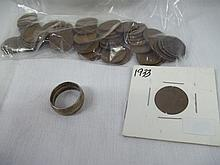 Coin Lot Mixed Wheat Pennies & Coin Jewelry