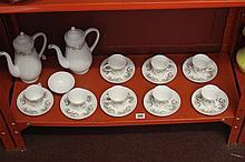20th cent. Ceramics: Susie Cooper coffee set - cof