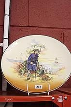 Royal Doulton: Wall plate