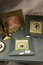 20th cent Ceramics, glassware and brass: Silhouett